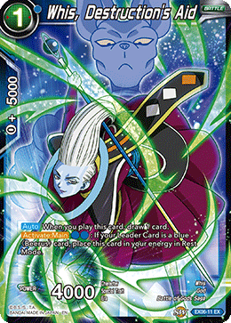 Whis, Destruction's Aid