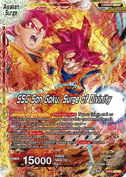 SSG Son Goku, Surge of Divinity