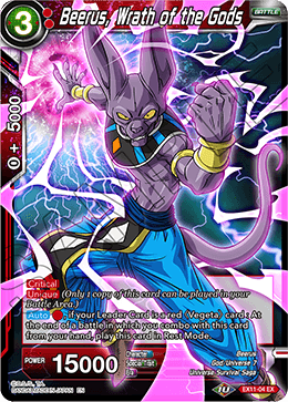 Beerus, Wrath of the Gods