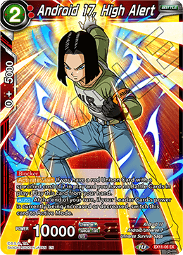 Android 17, High Alert