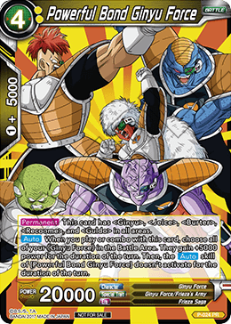 Powerful Bond Ginyu Force