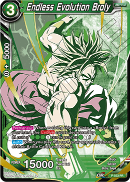 Endless Evolution Broly