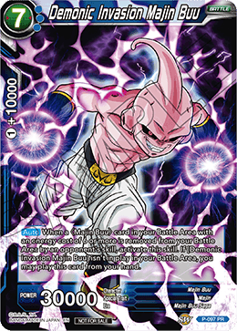 Demonic Invasion Majin Buu