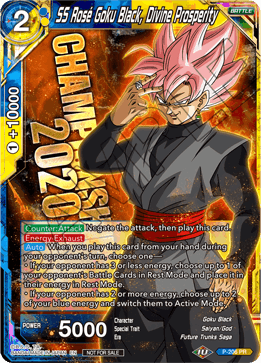 SS Rose Goku Black, Divine Prosperity