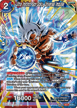 Ultra Instinct Son Goku, Universal Impulse