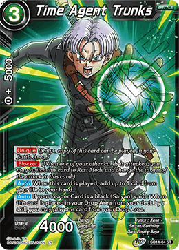 Time Agent Trunks