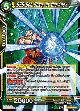 SSB Son Goku, at the Apex