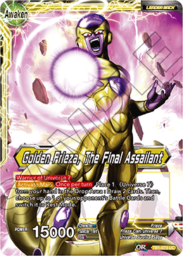 Golden Frieza, The Final Assailant