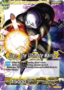 Jiren, The Ultimate Warrior