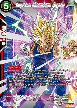 Supreme Showdown Vegeta