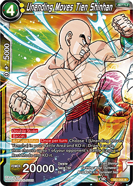 Unending Moves Tien Shinhan