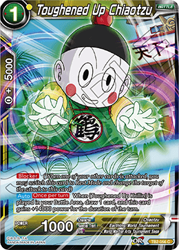 Toughened Up Chiaotzu