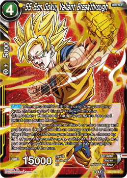 SS Son Goku, Valiant Breakthrough