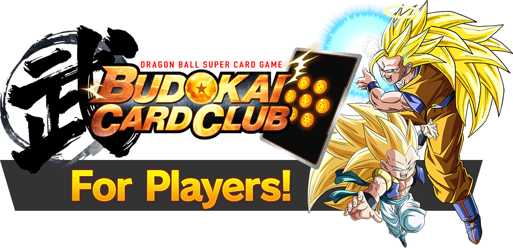 BUDOKAI CARD CLUB For players!