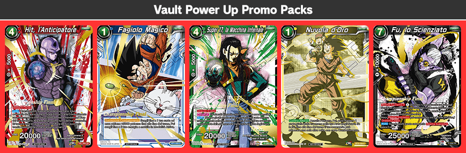 Vault Power Up Promo Packs