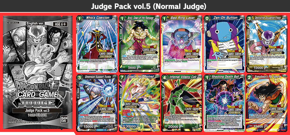 Judge Pack vol.5(Normal Judge)