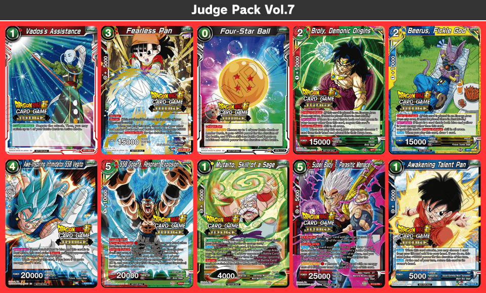 Judge Pack Vol.7