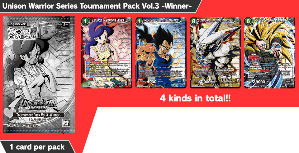 Unison Warrior Series Tournament Pack Vol.3 -Winner-