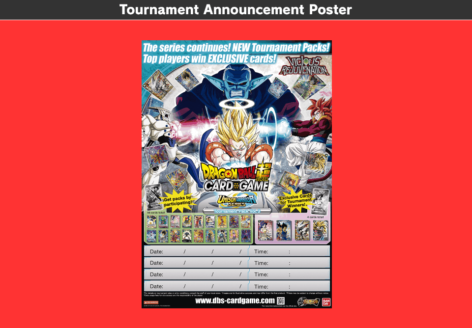Tournament Announcement Poster