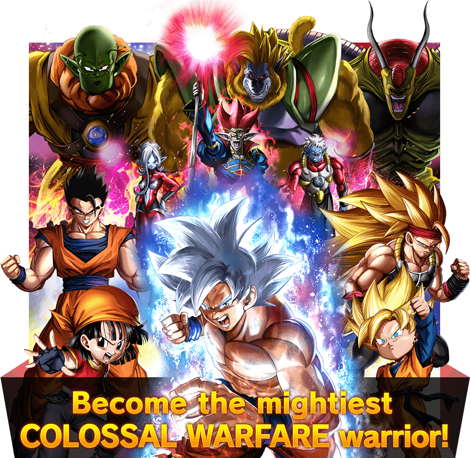 Become the mightiest COLOSSAL WARFARE warrior!
