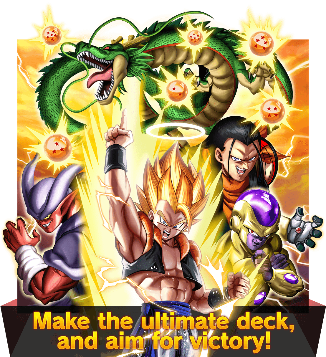 Make the ultimate deck, and aim for victory!
