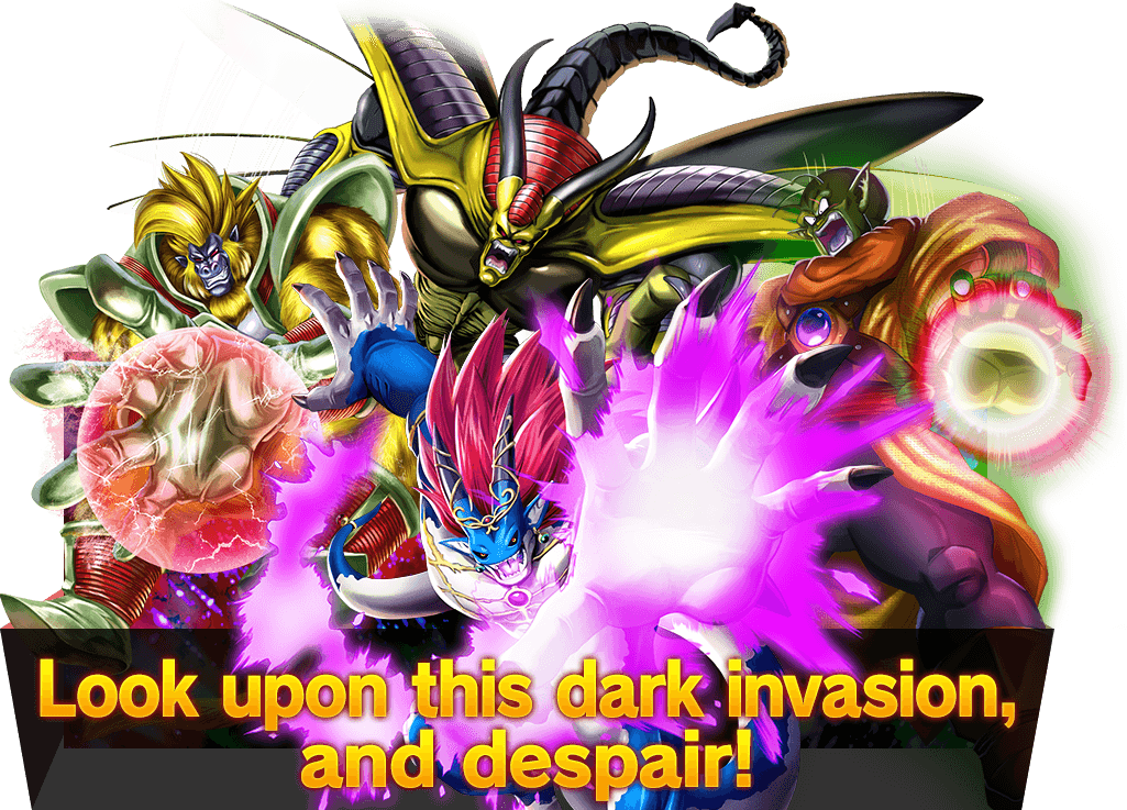 Look upon this dark invasion, and despair!