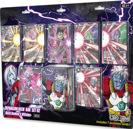 DRAGON BALL SUPER CARD GAME EXPANSION DECK BOX SET 02-Dark Demon's Villains-