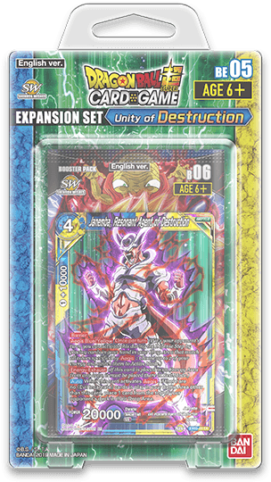 EXPANSION SET05 -Unity of Destruction-【DBS-BE05】