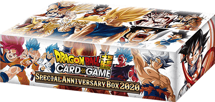 DRAGON BALL SUPER CARD GAME Special Anniversary Box 2020 [DBS-BE13]