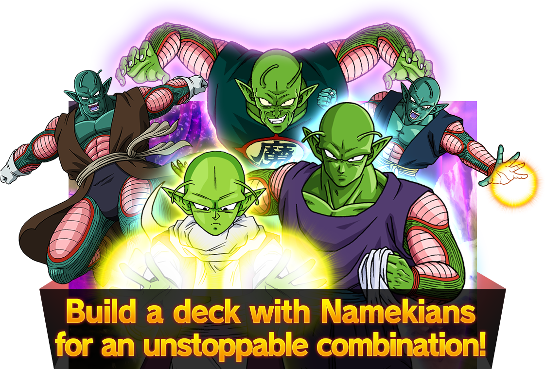 Build a deck with Namekians for an unstoppable combination!