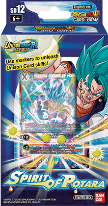STARTER DECK 12 -Spirit of Potara- [DBS-SD12]