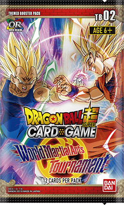 Themed Booster pack ~World Martial Arts Tournament~【DBS-TB02】