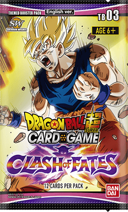 Themed Booster pack ~CLASH OF FATES~【DBS-TB03】