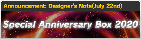 Announcement: Designer Notes-volume.2(May 29th)