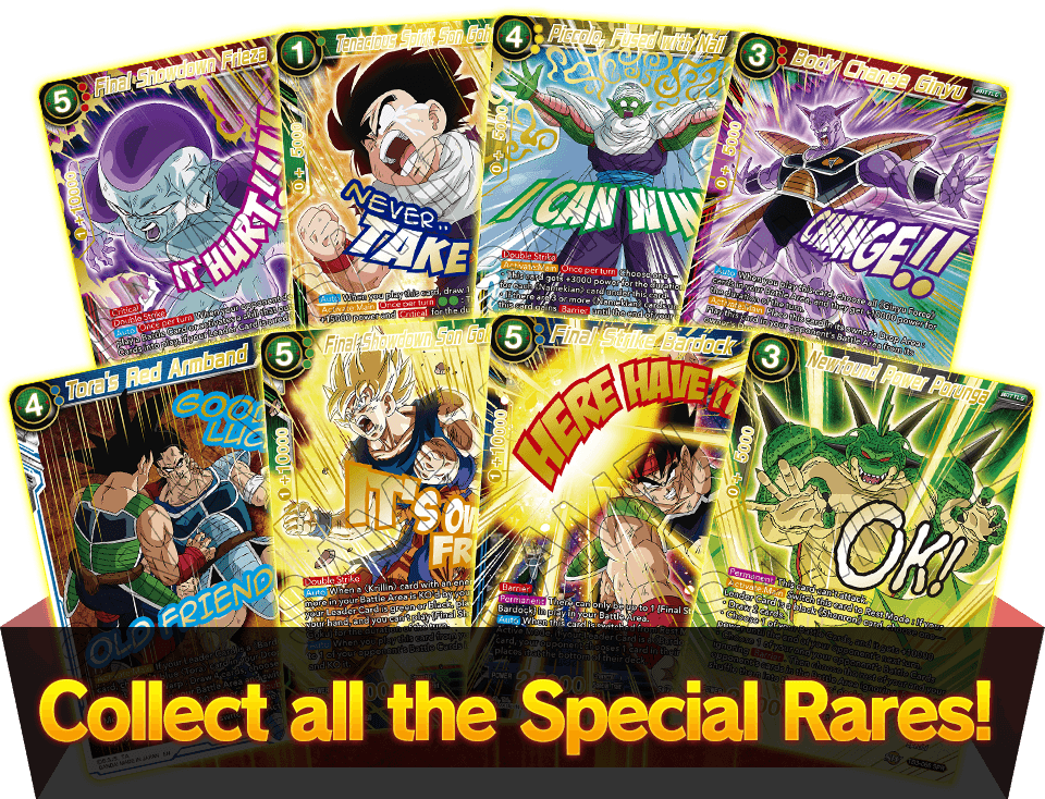 Collect all the Special Rares!