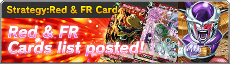 Strategy:Red & FR Card